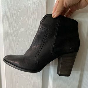 Dune London Black Ankle Boots
